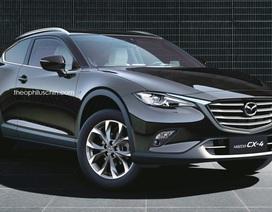 Vừa ra mắt CX-4, Mazda đã muốn làm ngay CX-4 coupé?