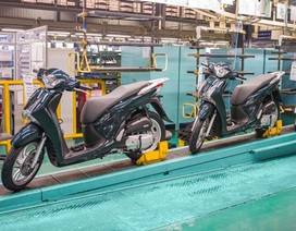 Honda bán ra hơn 2 triệu xe máy năm tài chính 2016