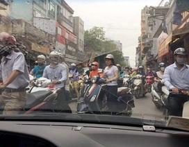 Lấn làn - Đặc sản giao thông Hà Nội?