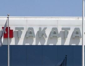 Vẫn có 4 hãng ôtô lớn sử dụng túi khí Takata
