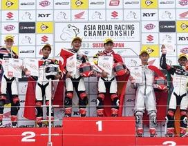 Tay đua Việt Nam chiến thắng tại giải đua xe quốc tế