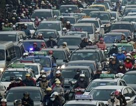 Xe máy vẫn là phương tiện chính tại đô thị Việt Nam