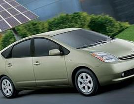 Toyota Prius tại châu Âu sử dụng kính thu năng lượng mặt trời