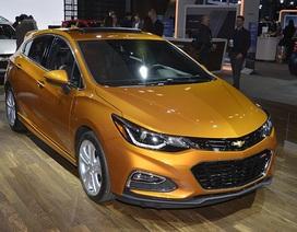 Chevrolet Sonic 2017 trẻ trung và an toàn hơn