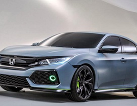 Honda hé lộ thông tin về Civic hatchback 2017
