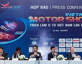 Triển lãm Ôtô Việt Nam 2016 khai mạc tại Hà Nội ngày 5/10