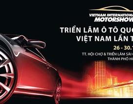 Triển lãm Ôtô Quốc tế Việt Nam 2016 sẽ không miễn phí vào cửa