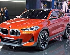 BMW ra mắt X2 Concept lần đầu tiên trên toàn thế giới