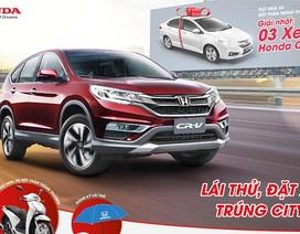 """Honda Việt Nam tổ chức chương trình """"Lái thử, trúng thật"""""""