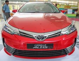 Toyota Altis mới có giá khởi điểm từ 27.300 USD