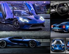 Siêu xe thể thao Ford GT 2017 đầu tiên xuất xưởng