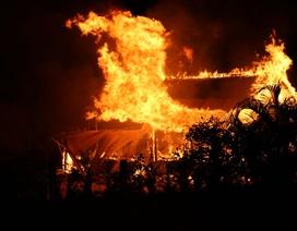 Bị la mắng, học trò 3 lần phóng hỏa đốt nhà thầy dạy nghề