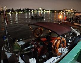 Tìm thấy thi thể thuyền viên mất tích trong vụ 2 tàu đâm nhau trên sông Sài Gòn