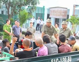 2 ngày ra quân, thu gom gần 650 người nghiện lang thang