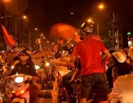 """CSGT TPHCM """"lên dây cót"""" trước trận bán kết lượt về Việt Nam - Malaysia"""