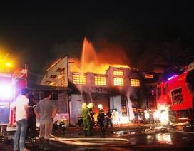 8 giờ khống chế vụ cháy kinh hoàng tại công ty SamHo
