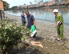 Phát hiện thi thể thanh niên lẫn trong bùn dọc bờ kênh