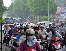 Ngày thứ 2 cấm đường tại TPHCM: Vẫn khốn đốn vì kẹt xe