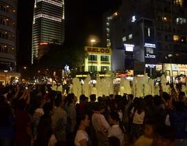 Tăng cường an ninh tại phố đi bộ Nguyễn Huệ