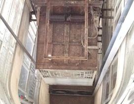 Thợ bảo trì thang máy bị thang chèn chết