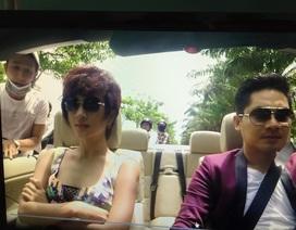 Diễn viên Kim Tuyến bị cướp giỏ xách khi đang đóng phim