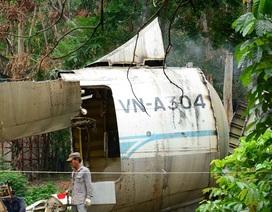 """Tận mắt việc """"xẻ thịt"""" chiếc Boeing đầu tiên của Việt Nam"""