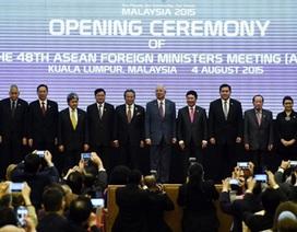 Các Ngoại trưởng ASEAN kêu gọi tăng cường đoàn kết để xử lý vấn đề Biển Đông