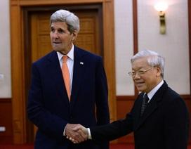 Ngoại trưởng John Kerry: Việt, Mỹ từ cựu thù trở thành đối tác