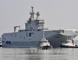 Thương vụ tàu Mistral: Ông Hollande đã tự bắn vào chân mình
