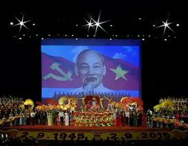 """Chương trình nghệ thuật đặc biệt """"Việt Nam - Thời đại Hồ Chí Minh"""""""