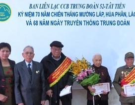 Ký ức người lính tham gia trận đánh Mường Láp - Hủa Phăn - Lào 70 năm trước