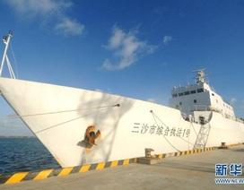 Trung Quốc điều tàu chấp pháp tuần tra trái phép nhóm đảo Lưỡi Liềm, quần đảo Hoàng Sa