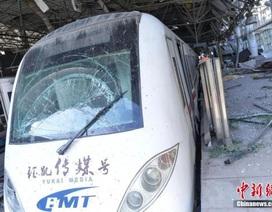Vụ nổ tại Thiên Tân phá hủy nhà ga cách xa 1 km