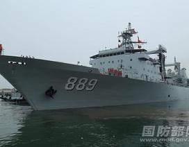 Trung Quốc điều 7 tàu chiến tới Nga diễn tập