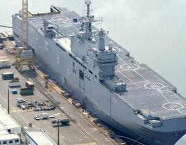 Nga chấp thuận để Pháp bán lại chiến hạm Mistral cho Ai Cập và UAE