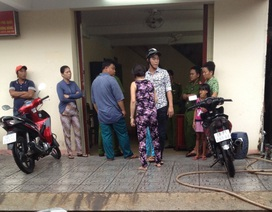 Vụ cứu bé 13 ngày tuổi: Người thân đối tượng bị bắn kéo đến trụ sở công an