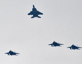 """Nhật Bản điều 4 máy bay chiến đấu chặn """"máy bay lạ"""""""