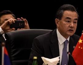 Ngoại trưởng Trung Quốc lớn tiếng nói không từ bỏ tuyên bố chủ quyền ở Biển Đông