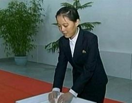 Lãnh đạo Kim Jong-un cất nhắc em gái lên phó ban tuyên truyền