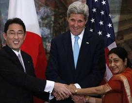 Mỹ - Ấn - Nhật kêu gọi hợp tác bảo đảm an ninh hàng hải