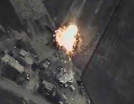 Nga công bố video các cuộc không kích đầu tiên tại Syria