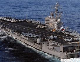 Mỹ đưa tàu sân bay hạt nhân hiện đại tới Nhật Bản