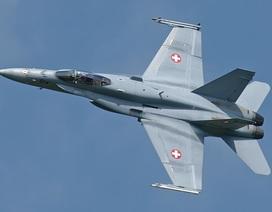 Thụy Sĩ lên tiếng vụ điều F-18 áp sát máy bay chở quan chức Nga