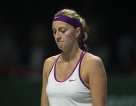 Kvitova, Safarova cùng nhận thất bại