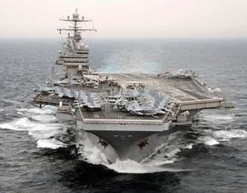 Bộ trưởng Quốc phòng Mỹ lên thăm tàu sân bay trên Biển Đông ngày mai