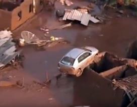 Vỡ đập ở Brazil, 60 người chết và mất tích