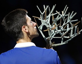 Lần thứ 4 vô địch Paris Masters, Djokovic đi vào lịch sử