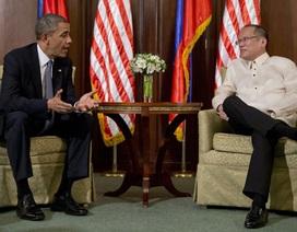 Ông Obama sẽ thảo luận vấn đề Biển Đông với Tổng thống Philippines
