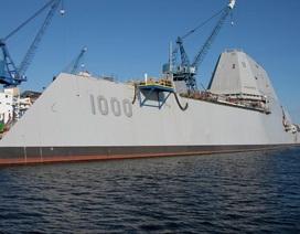 Hải quân Mỹ sắp thử nghiệm tàu khu trục hiện đại bậc nhất