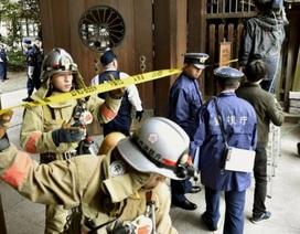 Nổ bom tại ngôi đền cổ Yasukuni của Nhật Bản